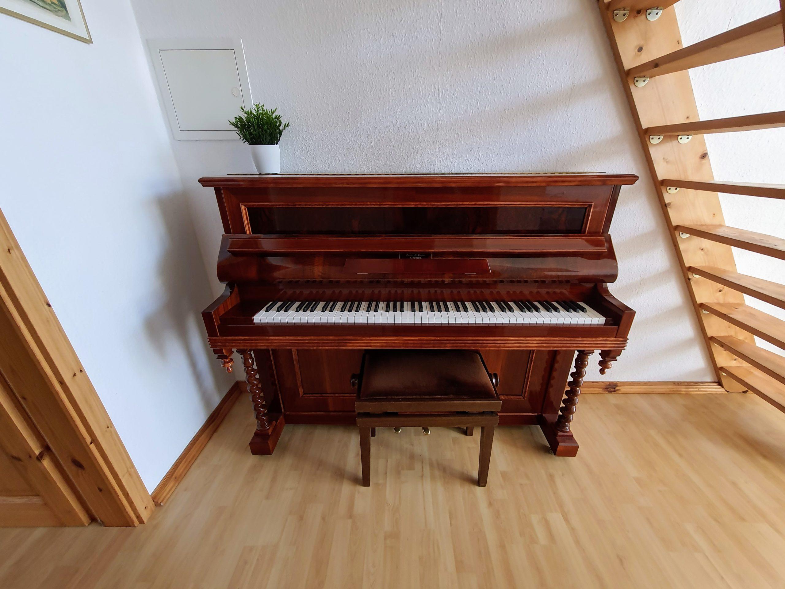 Klavier in der Ferienwohnung Chopin
